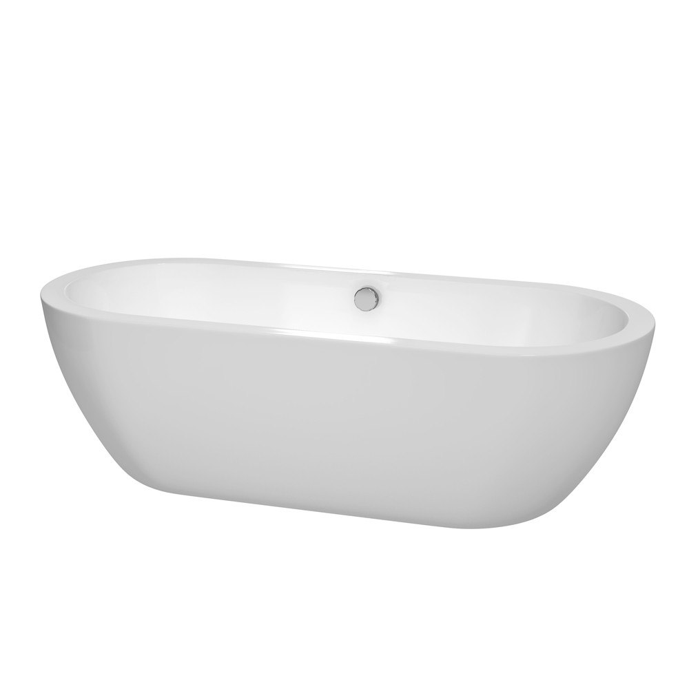 Wyndham Collection WCOBT100272 Soho 72 Inch Soaking