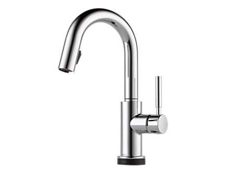 Brizo 64920LF Solna Single Handle Single Hole Pull-Down Bar/Prep with SmartTouch Technology