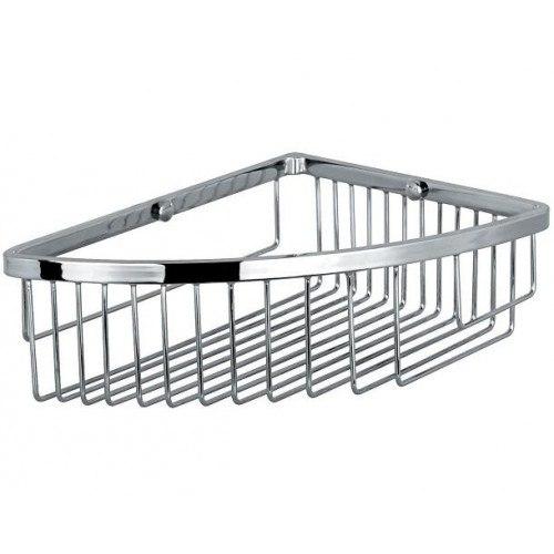 Lada KK-2823-1 Stainless Steel Soap and Sponge Holder Basket
