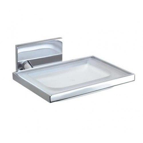 Lada kk48034 glass soap holder lada bathroom accessories for Toilet accessories sale