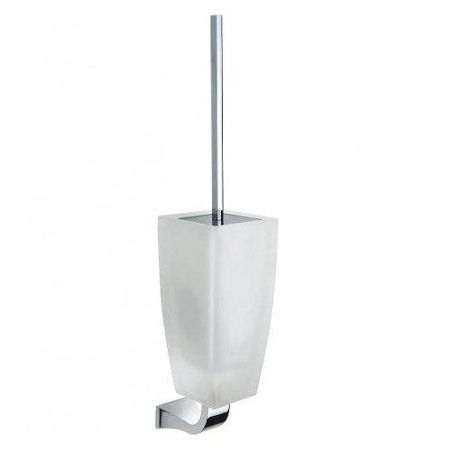 Lada KK66039 Wall Mount Glass Toilet Brush Holder