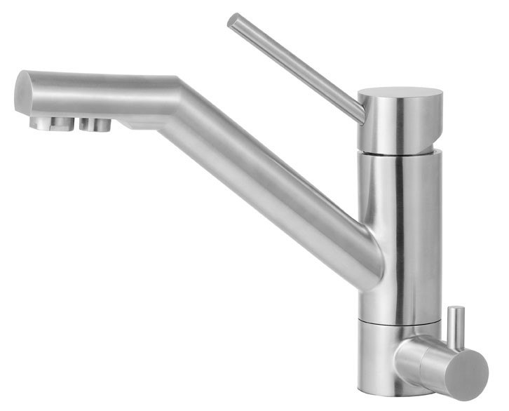 Alfi Brand AB2040 Solid Stainless Steel Kitchen Faucet w/ Built in Water Dispenser