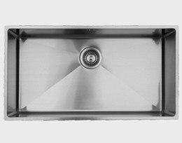 Ukinox RS838 33 Inch Undermount Single Bowl Sink