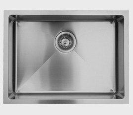 Ukinox RS558 22 Inch Undermount Single Bowl Sink