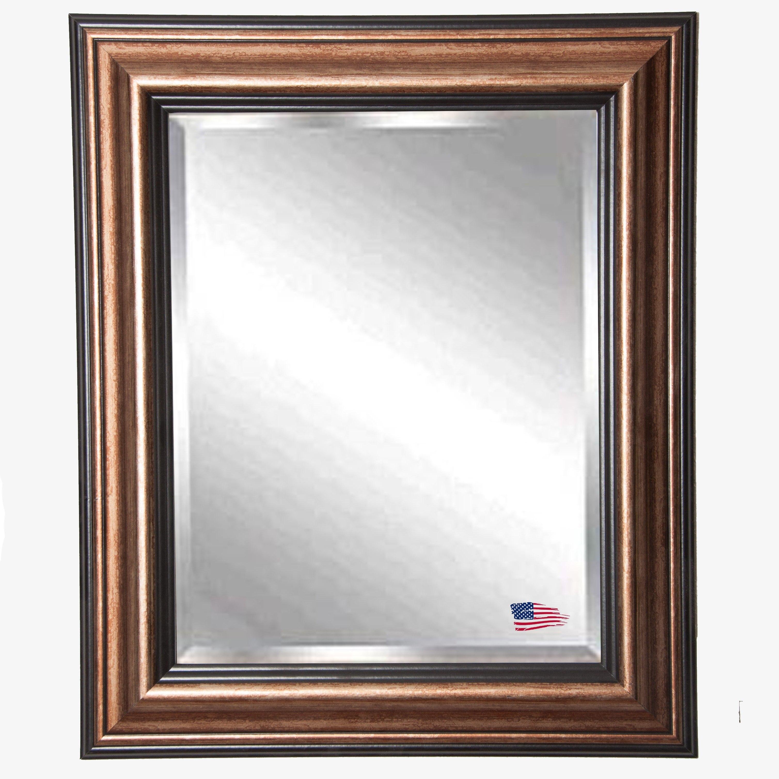 Rayne Mirrors R029MV 35.5 x 35.5 Inch Canyon Bronze Wall Mirror