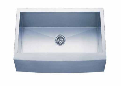 Dowell Sinks : Dowell USA 6002 2420 Handcrafted 24 Inch Undermount Kitchen Sink - 18 ...
