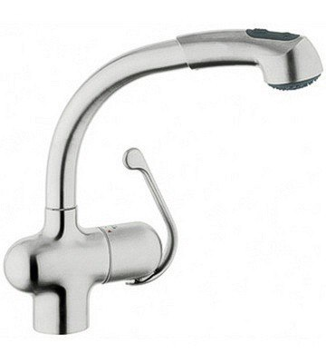 Grohe 33759 Ladylux Plus Dual Spray Pull-Out Faucet