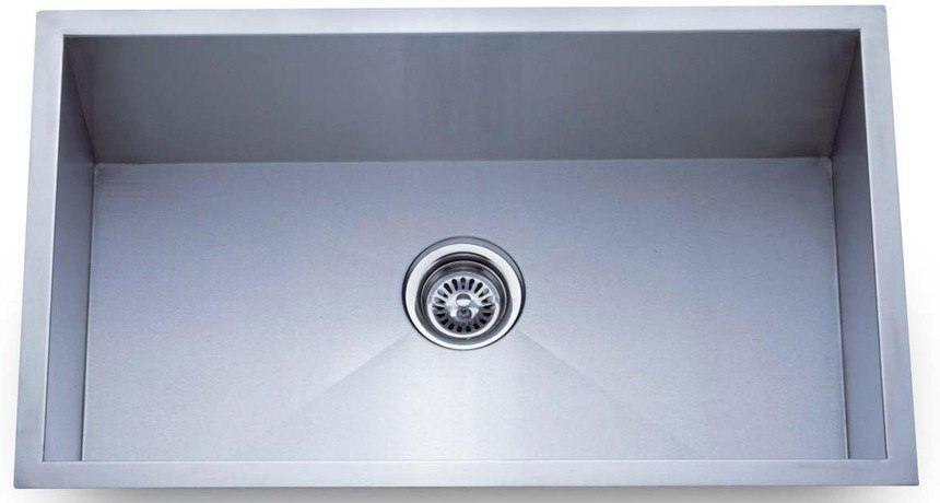 Dowell Sinks : Dowell USA 6002 3018 Handcrafted 30 Inch Undermount Kitchen Sink - 18 ...