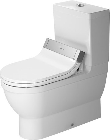 duravit 610001001001300 sensowash starck c bidet seat. Black Bedroom Furniture Sets. Home Design Ideas