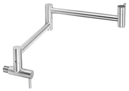 Alfi Brand AB5019 Stainless Steel Retractable Pot Filler Faucet