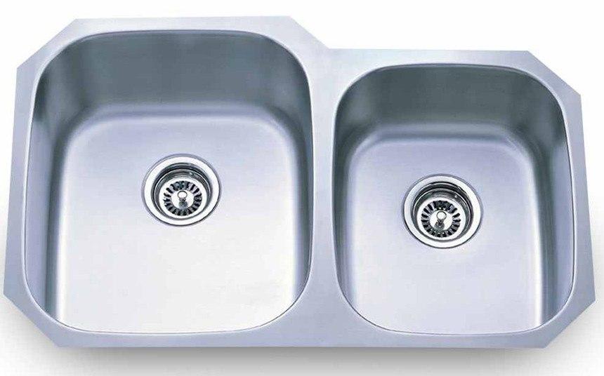 Dowell Sinks : Dowell 6001 3220R Undermount Series 32 Inch Undermount Kitchen Sink ...