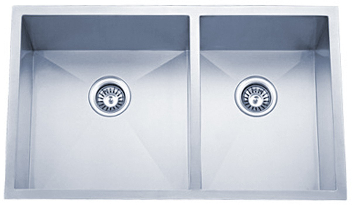 Dowell Sinks : Dowell USA 6002 3320T Handcrafted 33 Inch Undermount Kitchen Sink - 16 ...