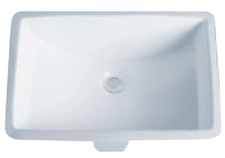 Dowell Sinks : Dowell USA 6003-2115W Undermount 20 Inch Bathroom Sink 6003-2115W ...