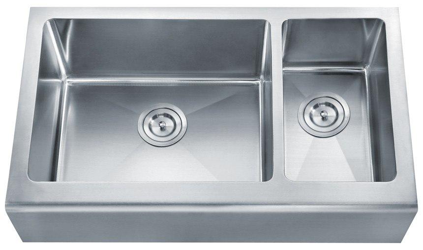 Dowell Sinks : Dowell USA 6008 3320D Handcrafted Small-Radius Corner Series 32 Inch ...