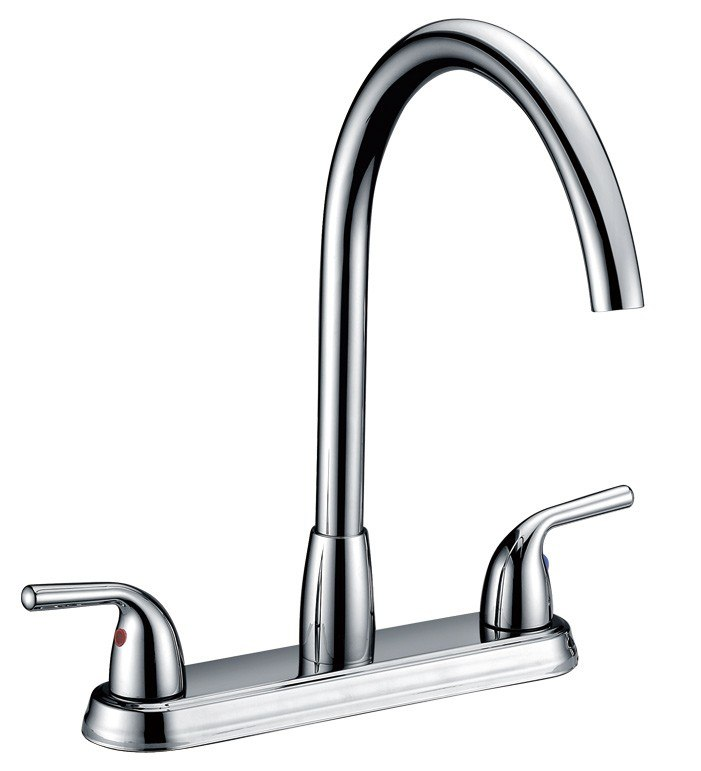 Dowell USA 8002 003 Double Handle Kitchen Faucet 8002 003