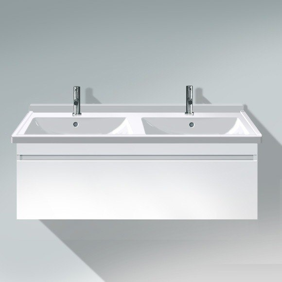 Duravit DS6390 DuraStyle 47-1/4 x 18-1/2 Inch Vanity Unit Wall-Mounted for 033213 Starck 3 Washbasin