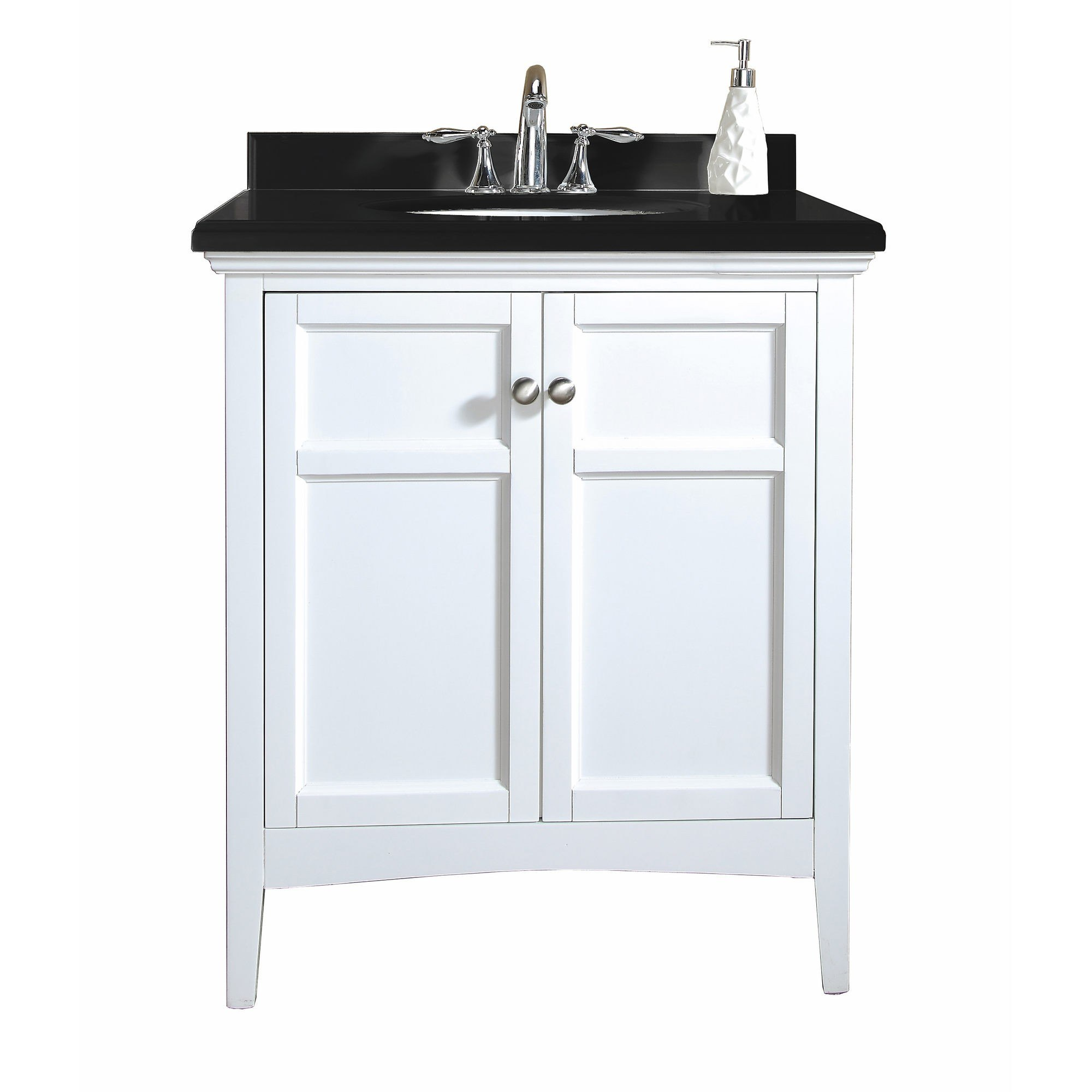 Ove Decor 15VVA-CAMP30-000AF Campo 30 Inch Vanity in White Finish