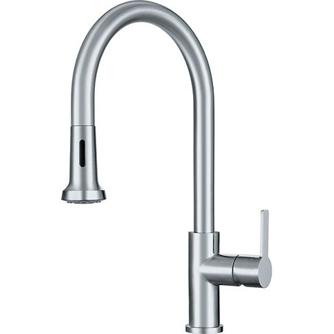Franke FF20650 Bernadine Pull Down Kitchen Faucet with Spray - Stainless Steel