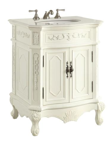 Chans Furniture HF 3305W AW 27 Spencer 27 Inch Antique