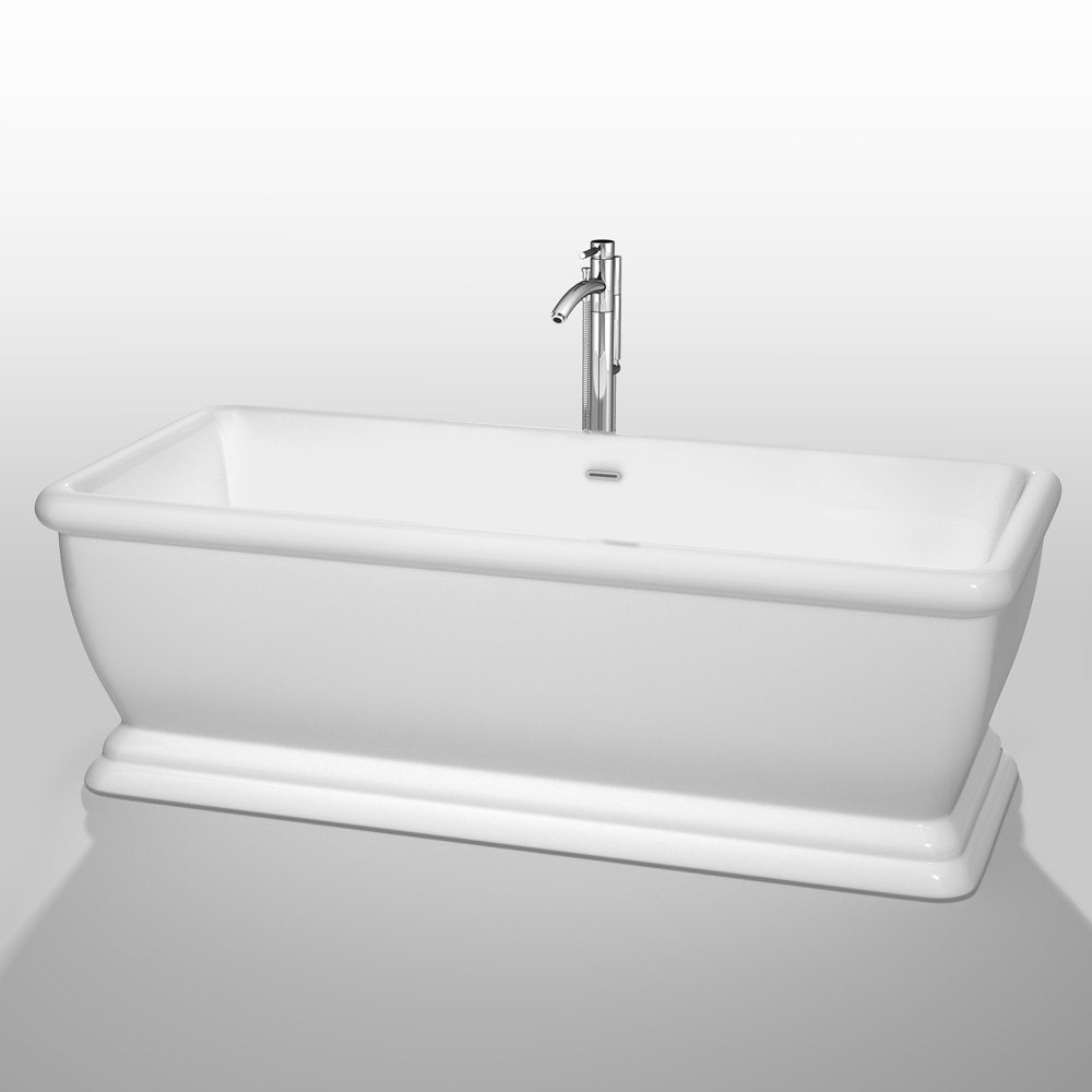Wyndham Collection WCBTO85368ATP11 Candace 68 Inch