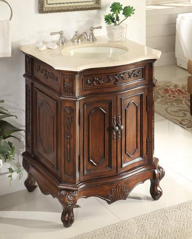 Chans Furniture Hf 3305m Tk 27 Spencer 27 Inch Brown