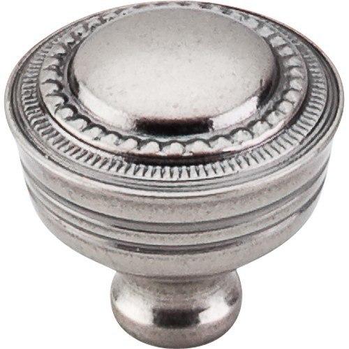 Top Knobs M198 PTA Tuscany Contessa Knob 1-1/4 Inch Pewter Antique