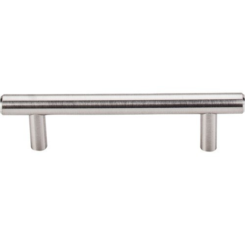 Top Knobs M429 BSN Bar Pulls Hopewell Bar Pull 3-3/4 Inch Center to Center Brushed Satin Nickel