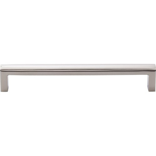 Top Knobs SS90 PSS Stainless II Pull 7-9/16 Inch Center to Center Polished Stainless Steel