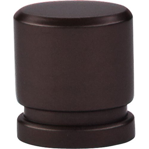 Top Knobs TK57ORB Sanctuary Oval Knob Small 1 Inch Oil Rubbed Bronze
