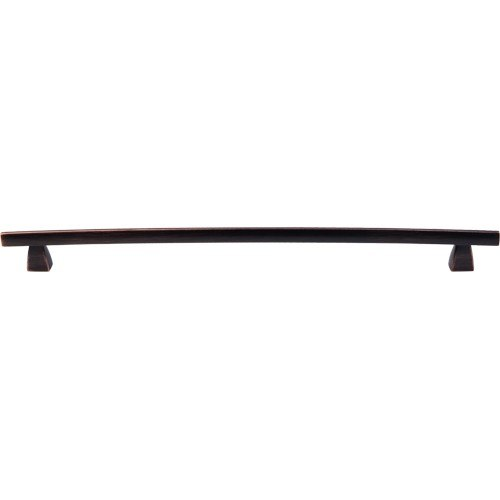 Top Knobs TK6TB Sanctuary Arched Pull 12 Inch Center to Center Tuscan Bronze