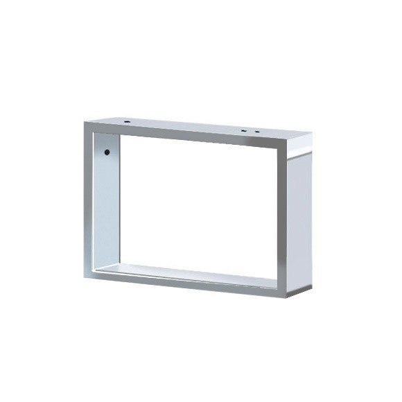 Duravit 2F990400000 2nd Floor Console Support for Installation Beneath the Depth Reduced Console, Chrome