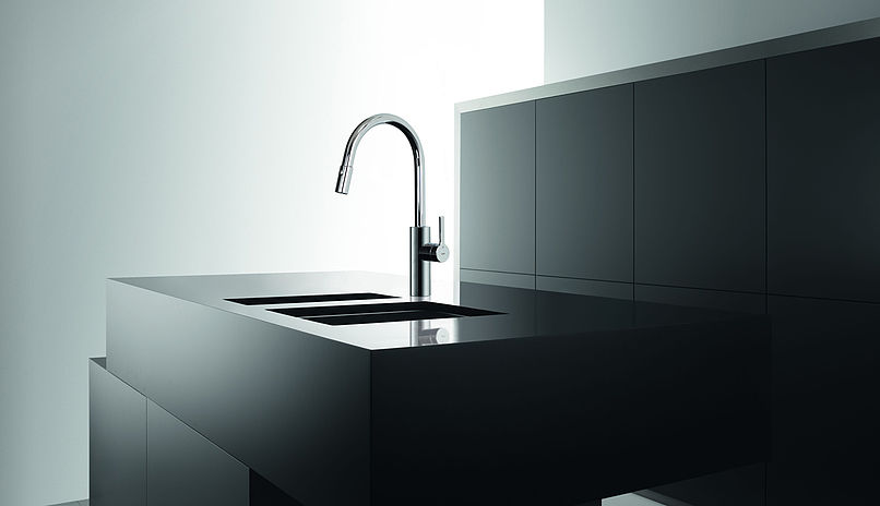 kwc 10 441 002 luna e kitchen faucet with pull out spray