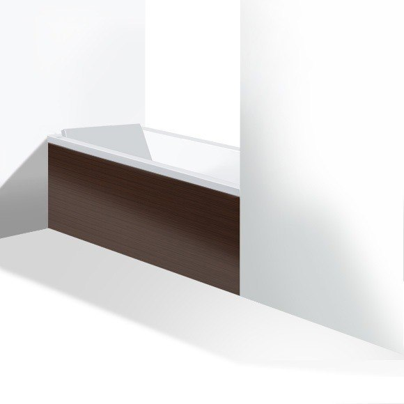 Duravit ST8936 Stark New 58-5/8 Inch Furniture Panel for Niche (Alcove) for 700331000000090, 700332000000090 Bathtubs