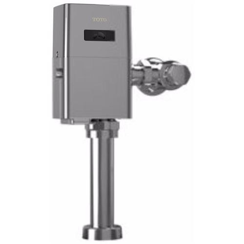 Toto TEU1LA12#CP Polished Chrome 0.5 GPF EcoPower High-Efficiency Urinal Flush Valve and 3/4 Inch Vacuum Breaker