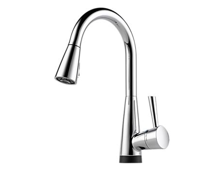 Brizo 64070LF Venuto Single Handle Pull-Down Kitchen Faucet w/ SmartTouch Technology