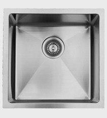 Ukinox RS390 17 Inch Undermount Single Bowl Sink