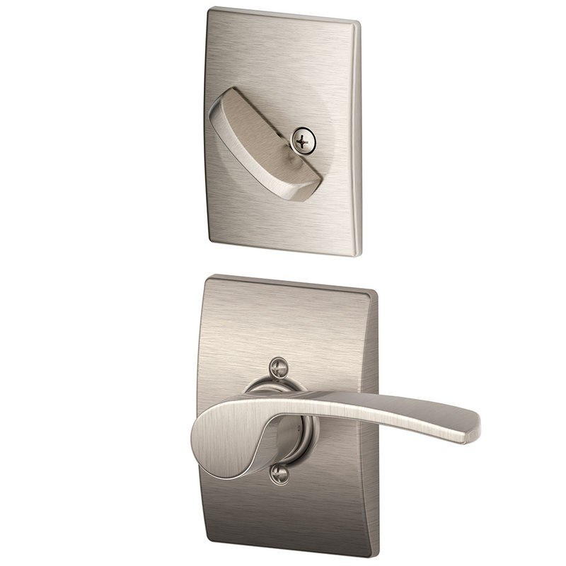 Weslock L1700u Elegance Bordeau Left Hand Passage Door