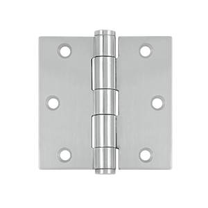 Deltana SS35 Stainless Steel 3-1/2 x 3-1/2 Inch Square Hinge