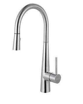 Franke FFP3450 Steel Pull-Down Prep Faucet