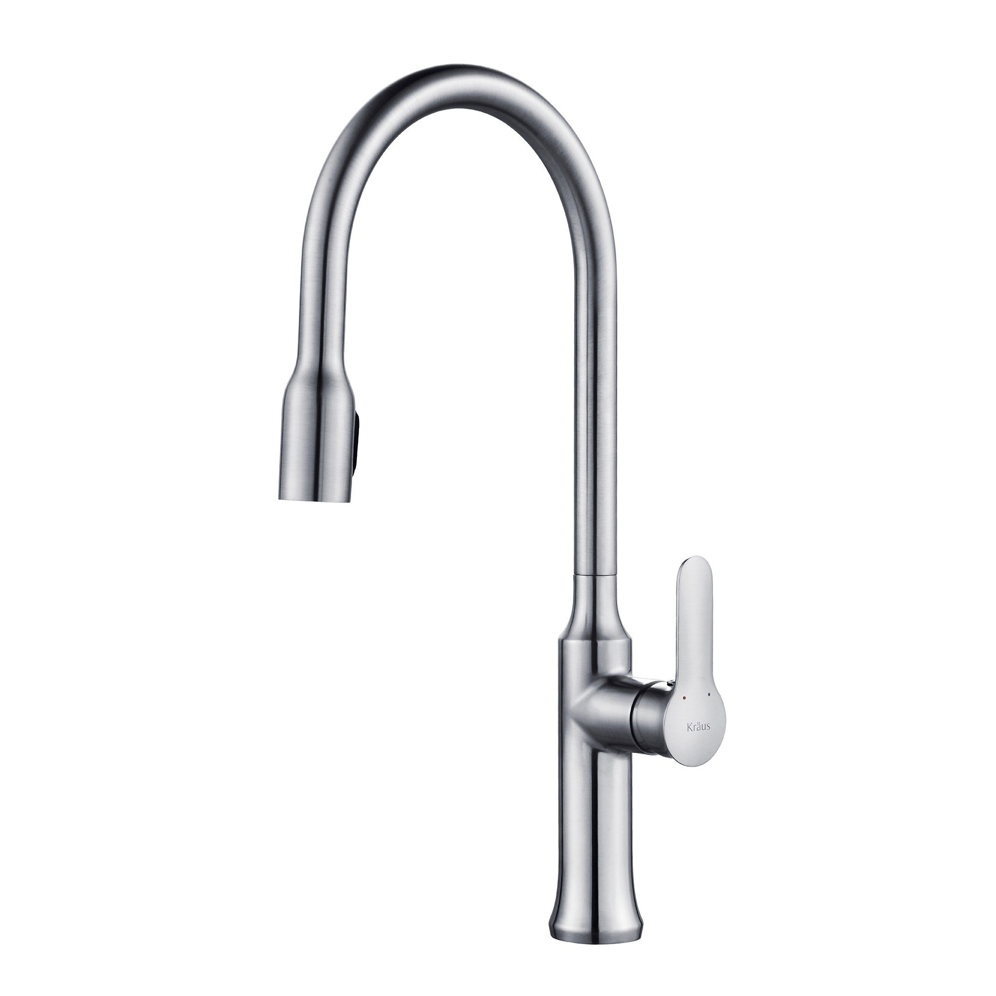 Where Are Kraus Faucets Made : Kraus KPF-1660 Nola? Single Lever Concealed Pull Down Kitchen Faucet ...