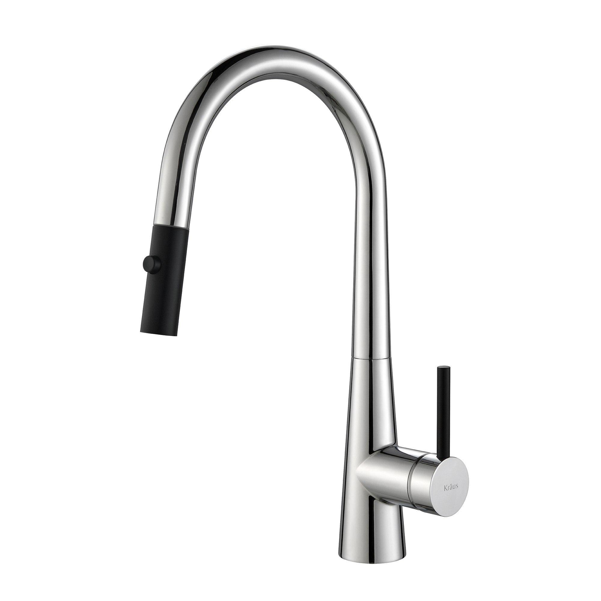Kraus Kpf 2720 Crespo Single Lever Pull Down Kitchen Faucet Kpf 2720ch Kpf2720ch Kpf 2720ss