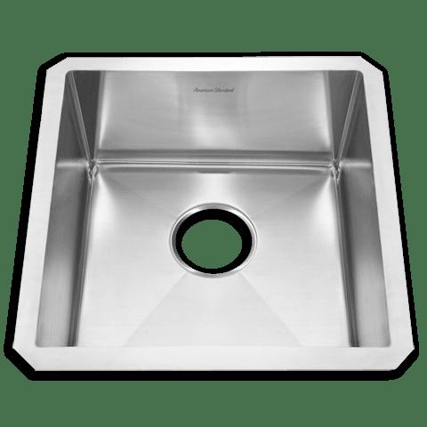 American Standard 12SB.171700 Prevoir Stainless Steel Undermount 17 x 17 Inch 1-Bowl Kitchen Sink