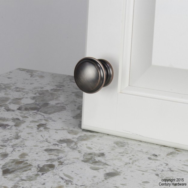 Century Hardware 28127 Bocci Collection Zinc Die Cast Knob 1-3/8 Inches Diameter