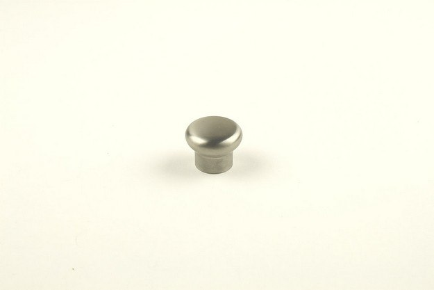 Century Hardware 404252 Stainless  Collection Stainless Steel Mushroom Knob 1-3/16 Inches Diameter