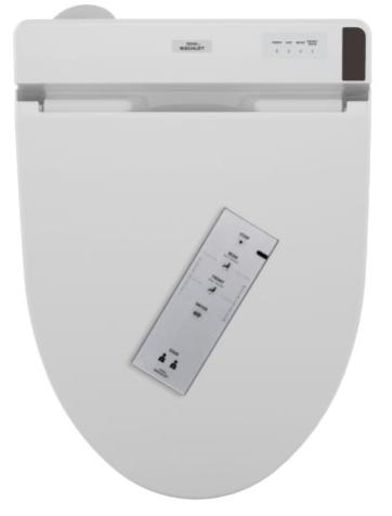Toto SW2044T20#01 Connect+ Washlet C200 Elongated