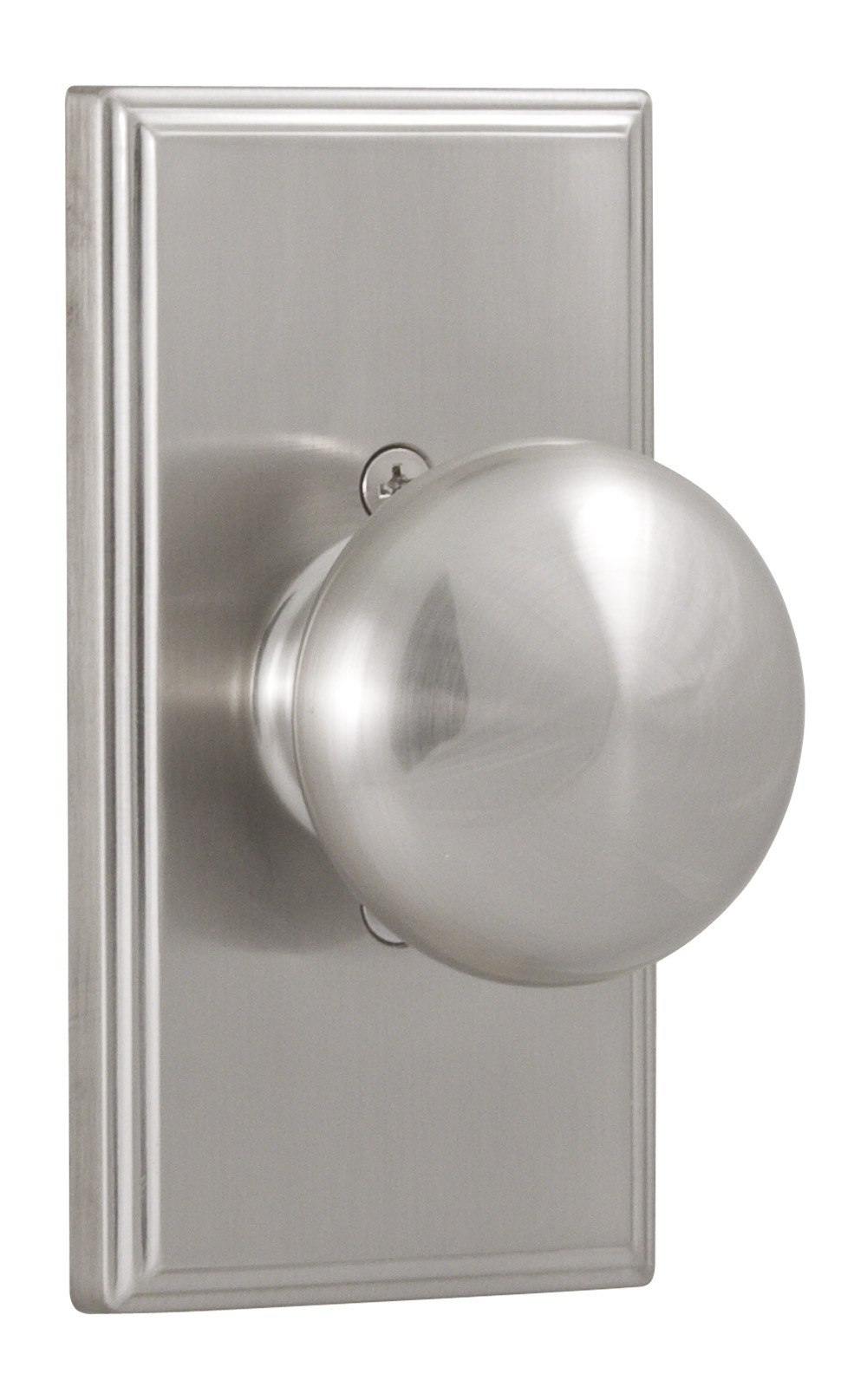 Weslock 03705I Elegance Impresa Single Dummy Door Knob with Woodward Rosette