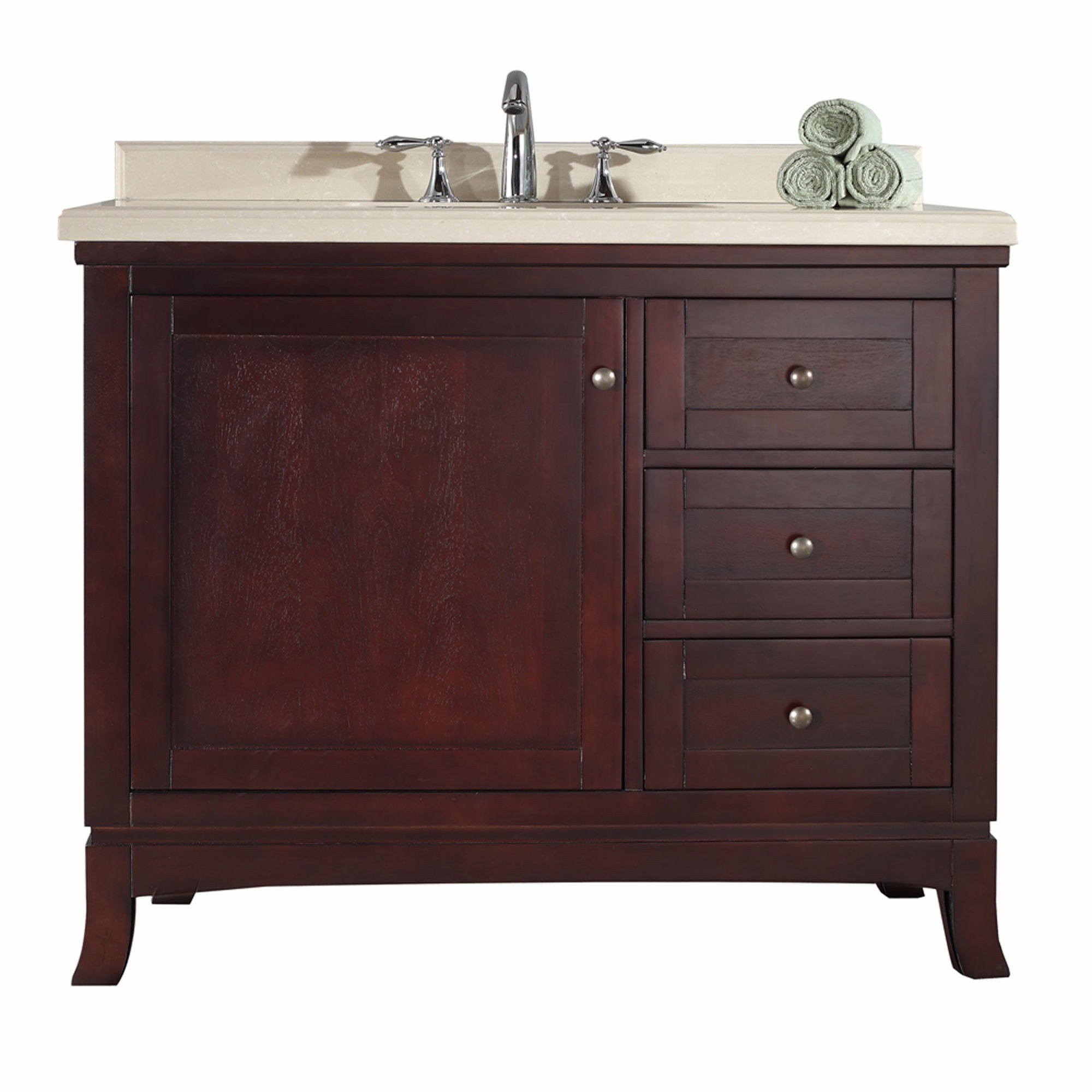 Ove Decor 15vva Vale42 D22af Valega 42 Inch Vanity In