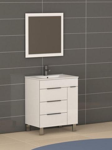 eviva evvn530 28wh geminis 28 inch white modern bathroom vanity with white integrated porcelain