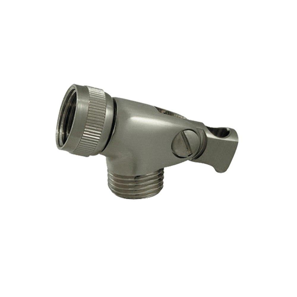 Whitehaus WH172A8-BN Showerhaus Brass Swivel Hand Spray Connector in Brushed Nickel