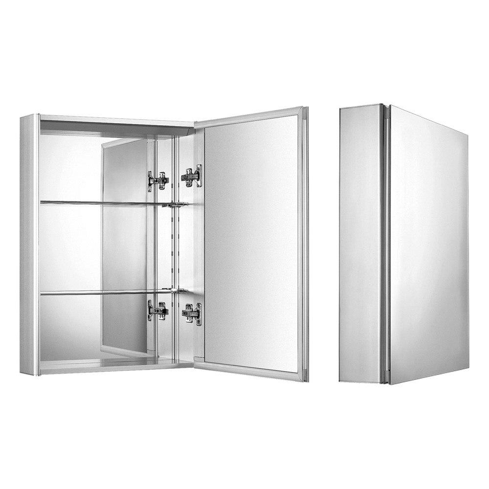 whitehaus whkal 27 3 5 inch vertical wall mount medicine cabinet. Black Bedroom Furniture Sets. Home Design Ideas
